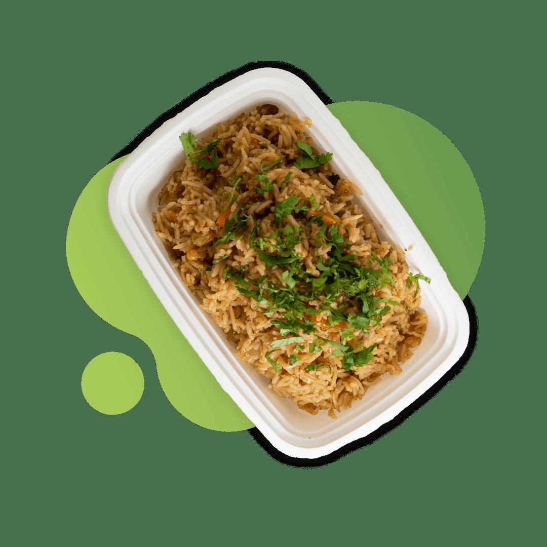 Vegan Biriyani with Basmati Rice & Cashew